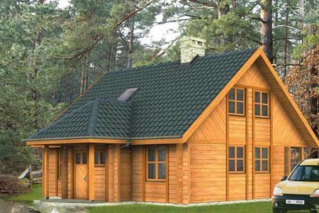 дома на основе деревянного каркаса г.Хабаровск
