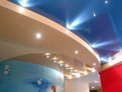 Натяжные потолки г.Хабаровск, сатиновые натяжные потолки, глянцевые натяжные потолки