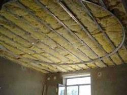 Утепление потолка в Хабаровске. Утеплить потолок г.Хабаровск